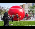 Red Ball at Parterre of Quartier des Spectacles 1