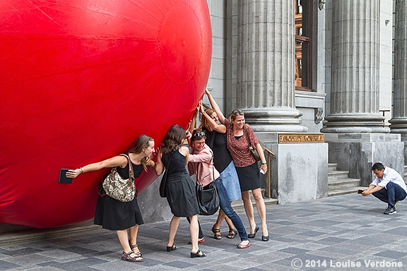 Red Ball at Bank of Montreal 2
