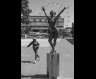 Girl and Dancer Sculpture