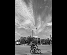 Cycliste and Clouds
