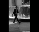 Blurred Man with Mobile